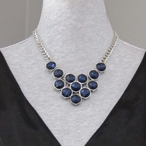 NEW Kenneth Cole New York Sapphire Blue Necklace
